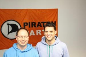 (v.l.): Dirk Hillbrecht (41) freut sich auf die Zusammenarbeit mit Daniel Pyttlik (28). Foto: Hendrik de Boer
